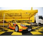 LADA Sport ROSNEFT приняла участие в шоу Kazan City Racing