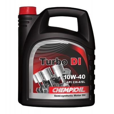 CHEMPIOIL Turbo DI 10W-40 /10W40 API CH-4/SL - 5 Litri Smērvielas un eļļas