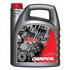 CHEMPIOIL Ultra XDI 5W-40 / 5w40 API CI-4/SL - 5 Litri Smērvielas un eļļas