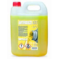 Antifrīzs (dzeltenais) Mifrax G11 - 5kg
