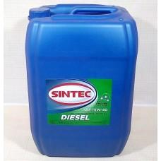 SINTEC DIESEL SAE 15W-40 API CF-4/CF/SJ - 20l Smērvielas un eļļas