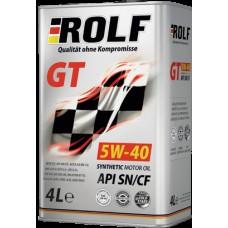 ROLF GT 5W-40 SN/CF - 1L Smērvielas un eļļas
