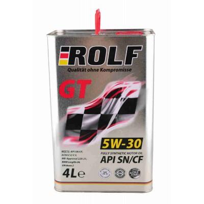 ROLF GT 5W-30 SN/CF - 4L Smērvielas un eļļas