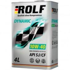ROLF DYNAMIC 10W-40 SJ/CF - 4L Smērvielas un eļļas