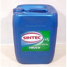SINTEC TRUCK SAE 10W-40 API CI-4/SL - 20l Smērvielas un eļļas