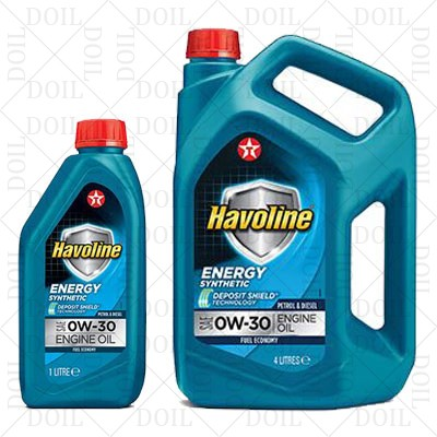 HAVOLINE ENERGY 0W-30  - 4L Smērvielas un eļļas